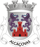 Alcáçovas, Wappen/coat of arms/brasão